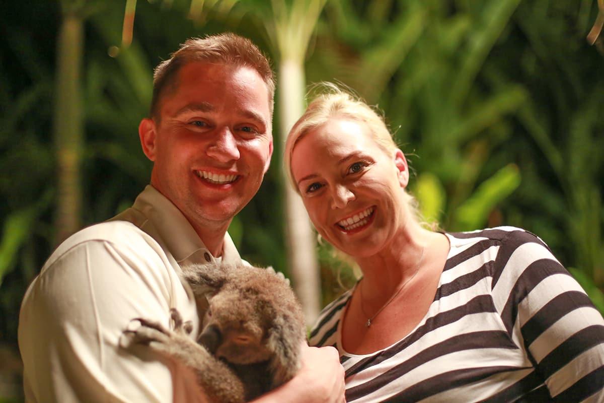 Ryder and Nicole Erickson Koala