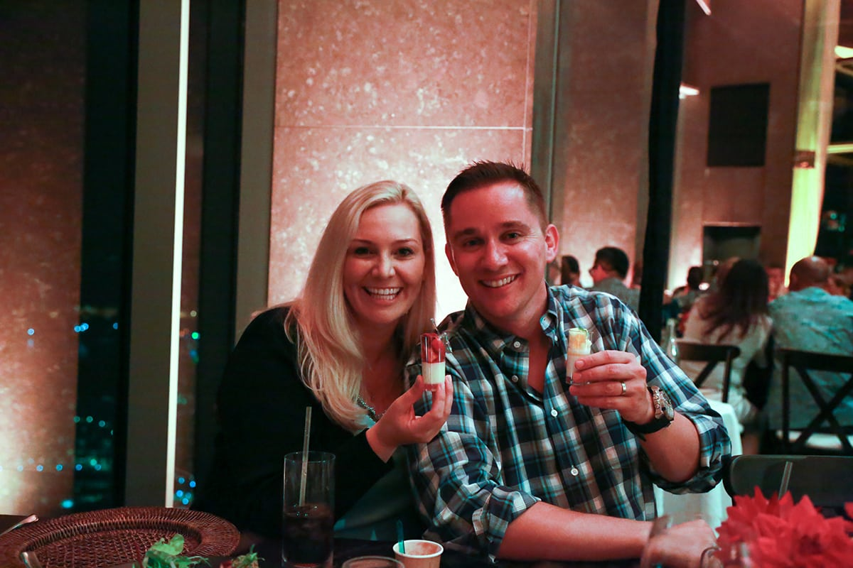 Ryder and Nicole Erickson Dessert