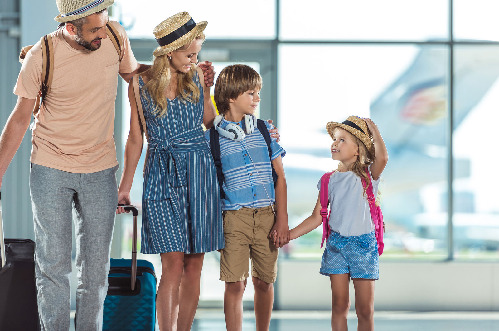 Five Tips to Stress Free Travel With Young Children