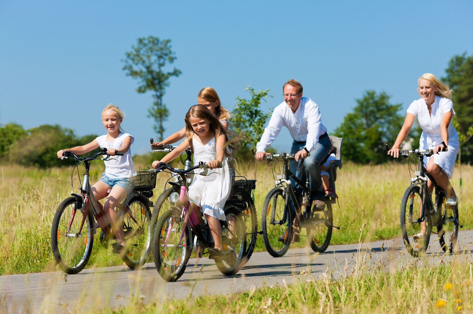 Three Ideas To Spice Up Your Family  Biking Adventures